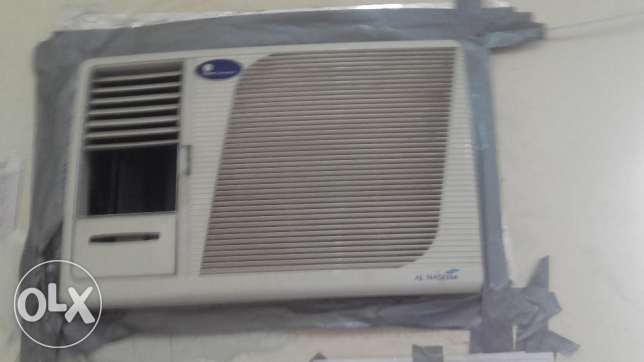 Window A/C 1.5 & wall mounted urgent sale