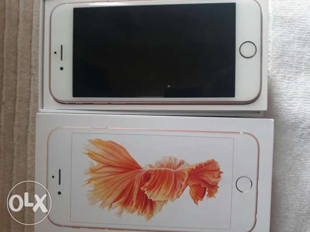 i phone 6s new letest Rose pink colour..