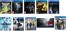 Looking for these games العاب مطلوبة