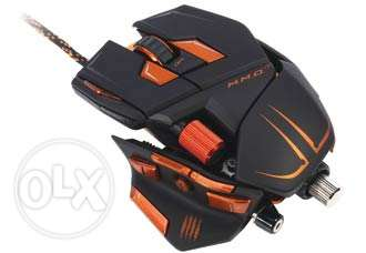 M.M.O. 7 Gaming Mouse Cyborg Black 13 Buttons 1x Wheel USB Wired Laser جدة -  3