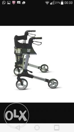 X fold Rollator - Ideal for support in walking