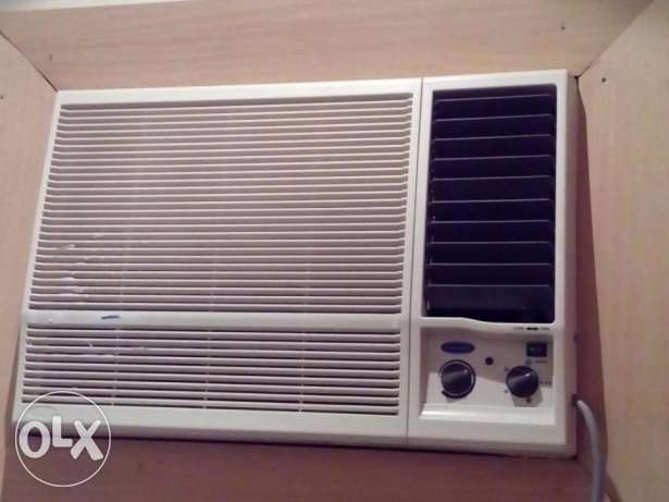 Carrier window Air condition 1.5 Ton / تكيف شباط كاريير 1.5 طن