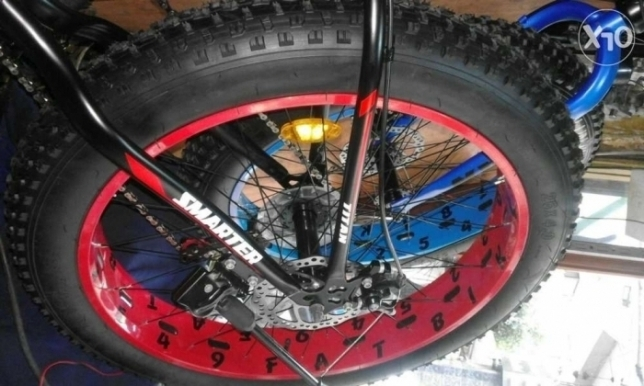 High-quality special features bicycle (fat bike)