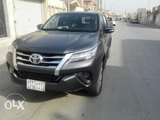 Toyota fortuner 2016 model .