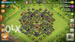 Clash of clans complete th9 for sale