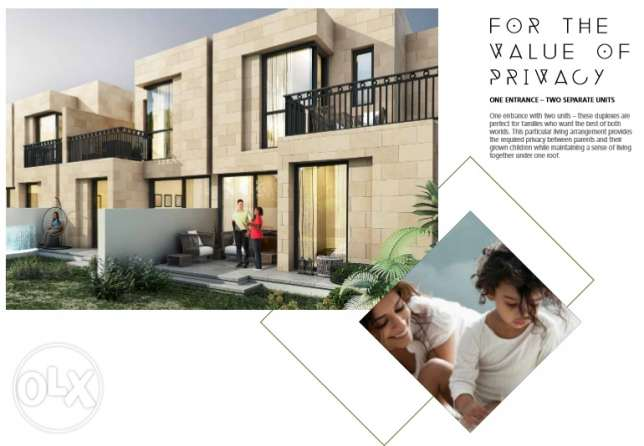 4bedroom townhous villa few units in this offer AKUYA OXGYNE 5 years