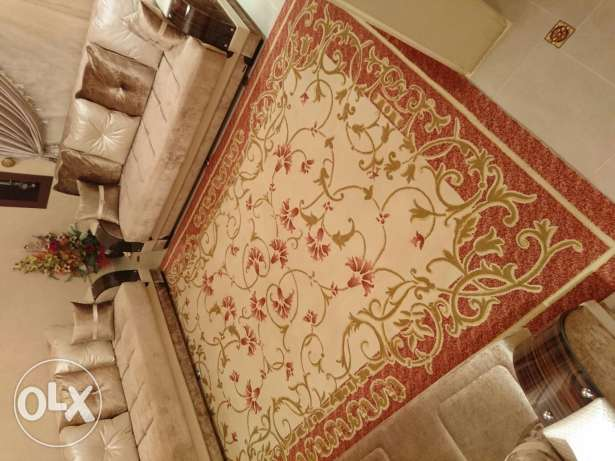 Turkish Carpet (3.5 by 2.5 meters). *Without The Sofas*