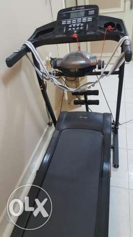 Olympia Treadmill-Attached Body Vibrator, Abs Maker, Twister, Dumbells