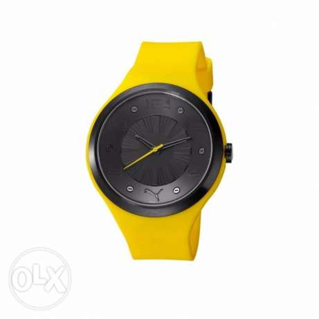 Puma exotic yellow watch