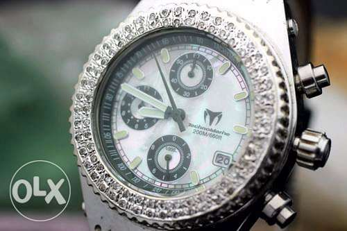 ساعة الماس Technomarine techno diamond watch