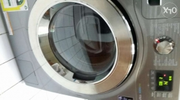 Washing machine with eco bubble technology and dryer