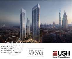 own your home downtown dubai starting 1,327,000 RIYAL by emaar