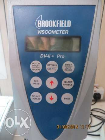 Digital Viscometer #3 [w/ Accessories]
