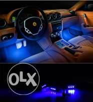 Car Interior Decorative Lights With Multiple colors and Music Sensor