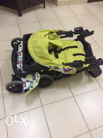 stroller graco 3 positions
