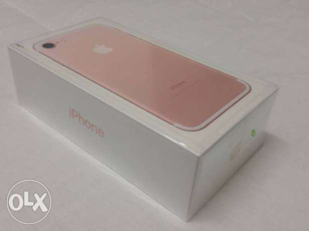 iPhone 7 Rose Gold Brand New 32GB not opened