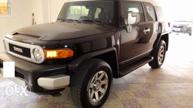 Toyota FJ Cruiser 2014 with low mileage 6650km only