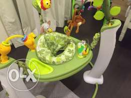 Exersaucer Jungle Jumper for sale(original price 800 from toysRus)