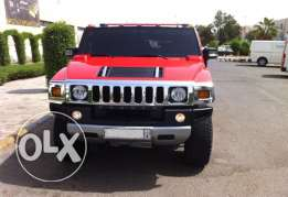 Hummer H2 2008 Red