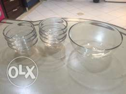 IKEA Glass Bowl Set - Excellent Condition