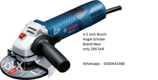 Bosch Grinders 4,4.5 & 9 inches