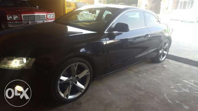 Very clean audi a5 coupe for sale الرياض -  1