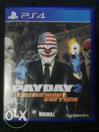 Ps4 Payday 2 crime wave edition
