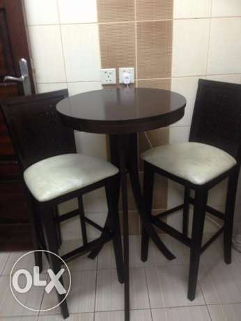 High Table and seat