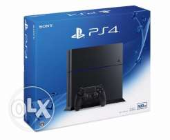 PS4-Playstation 4 NEW Slim Console 500GB (EU) /PS4 GAME NEW