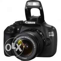 Canon DSLR EOS1200D [With Lenses, FREE BAG and SD CARD]