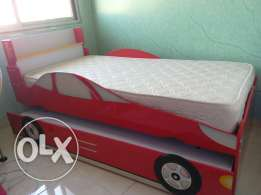 Bed two floor car shape