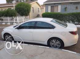 Mazda 6 white low mileage