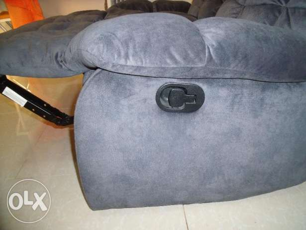 Gorgeous two-seater sofa with leg rests رأس تنورة -  4