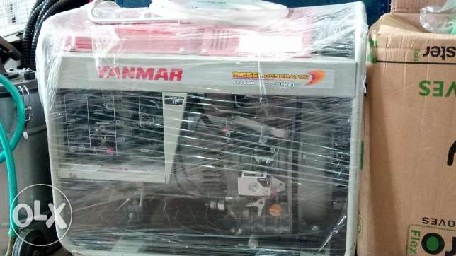 Yanmar Desiel generator Going cheapp 14000 SAR market value 18360 SAR