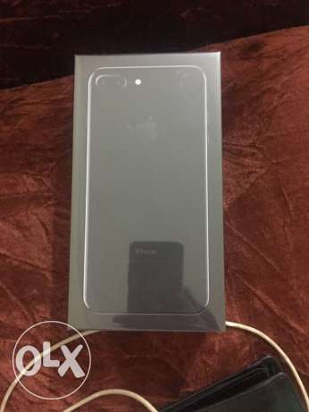 iPhone 7plus jetblack 128 gb. 2 years warranty