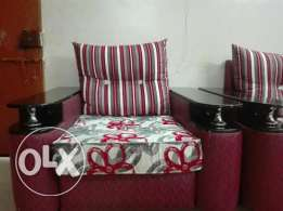 Threes pieces of sofa set