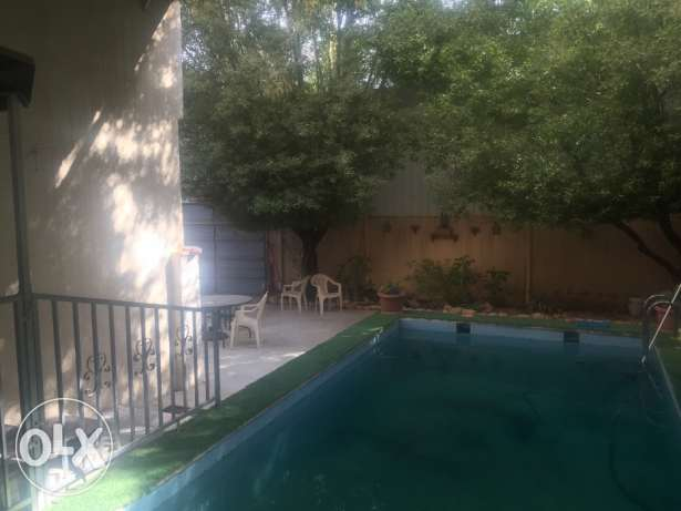 Ground floor villa with pool in Sulaimaniyah for rent!!! الرياض -  1