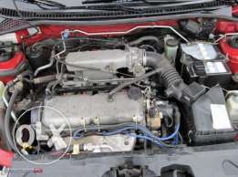 mazda 323 engine 1998. To. 2002