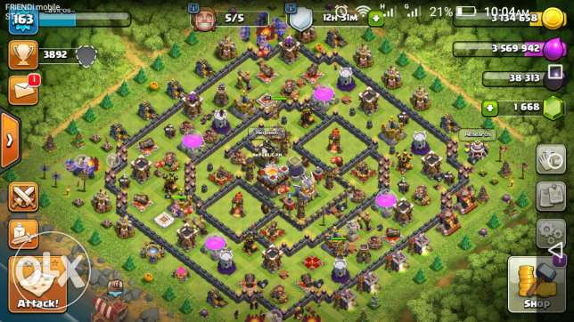 clash of clans game account for sale