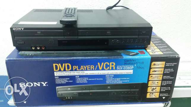 Sony DVD Player & VCR