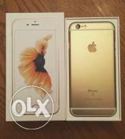 iPhone 6s 64 gb gold with FaceTime