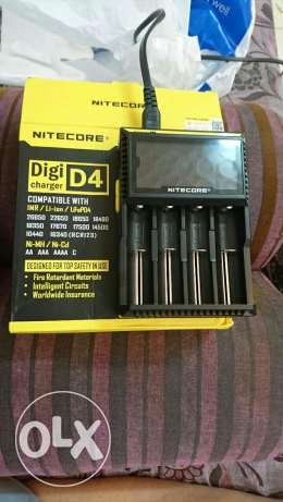 Nitecore D4 Digital Charger