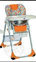 Chicco high chair and baby walker