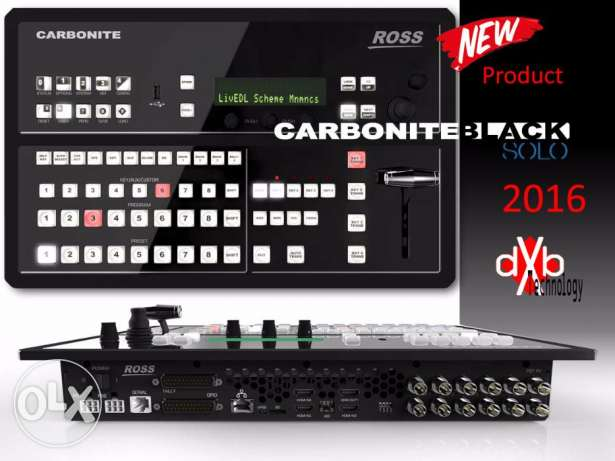 Video Switcher Ross Carbonite Black Solo 2016