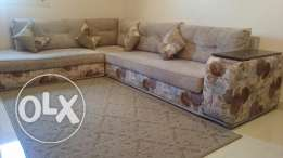 Living Room Sofa L shape excellent condition