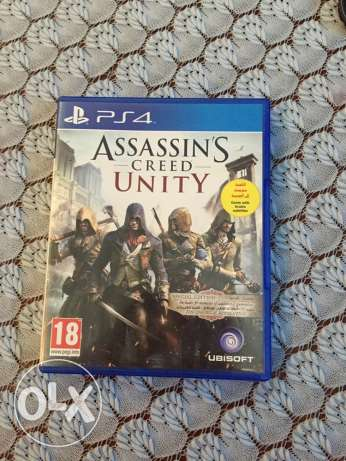 Assassin's Creed Unity P'S4