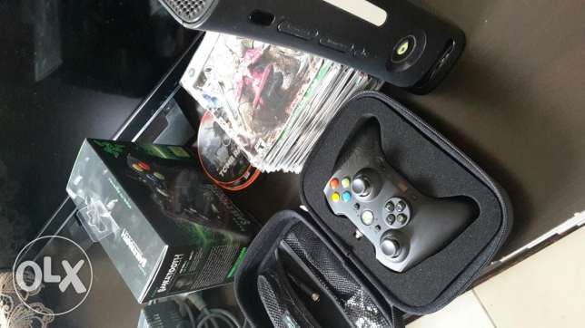 Modified Xbox + Full Games + RAZER Controller