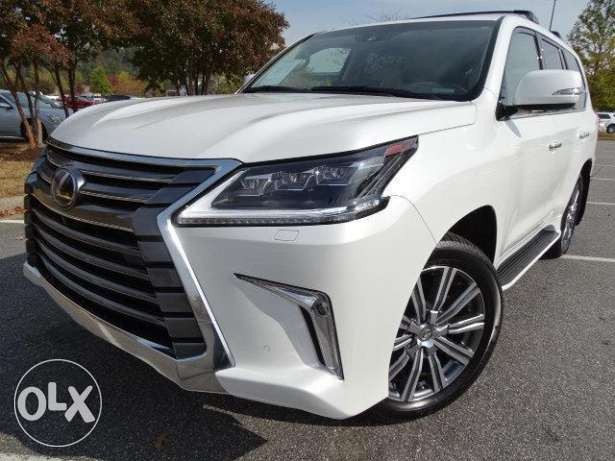 2016 lexus lx570 white full option - under warranty