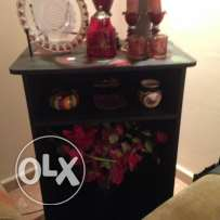Display Cabinet, Black Color