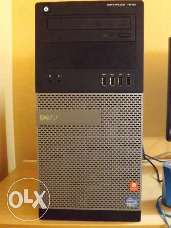 DELL optiplex 7010! i5! 4 gb ram! nvidia geforce gt 610! 500gb!